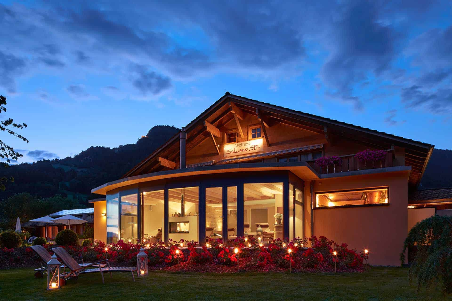 SALZANO Hotel - Spa - Restaurant in Interlaken / Wellness - Alpin Spa - SALZANO Spa Interlaken