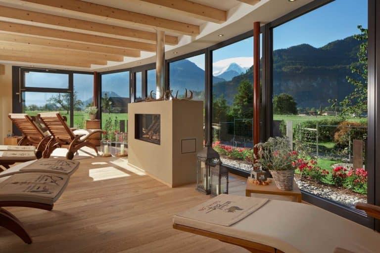 SALZANO Hotel - Spa - Restaurant in Interlaken / Wellness - Alpin Spa - Relax - Ruhe - Entspannung