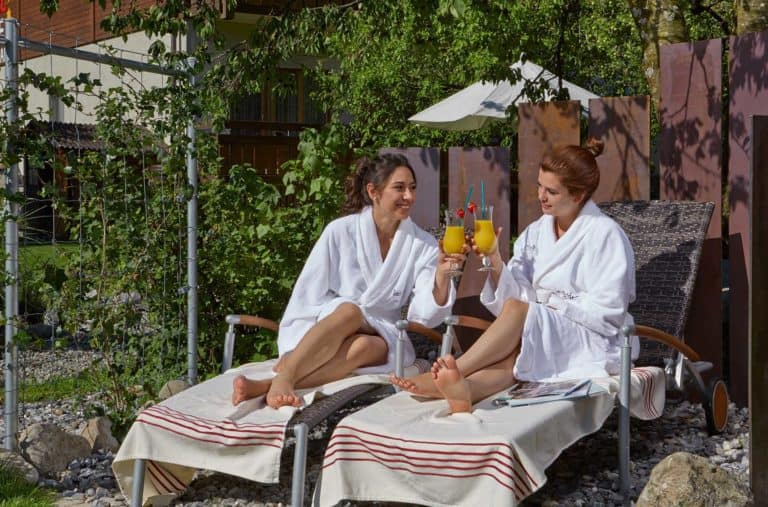 SALZANO Hotel - Spa - Restaurant in Interlaken / Wellness - Freundinnen Auszeit Idee