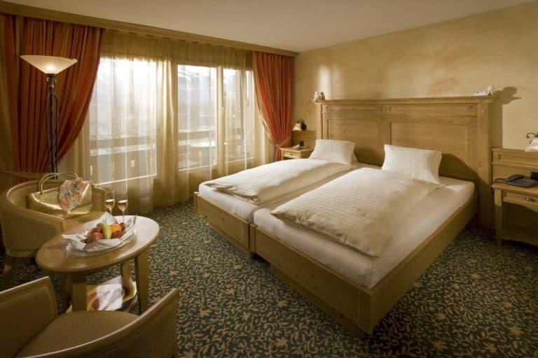 SALZANO Hotel - Spa - Restaurant in Interlaken - Urlaub, Ferien, Weekend, im Deluxe Zimmer