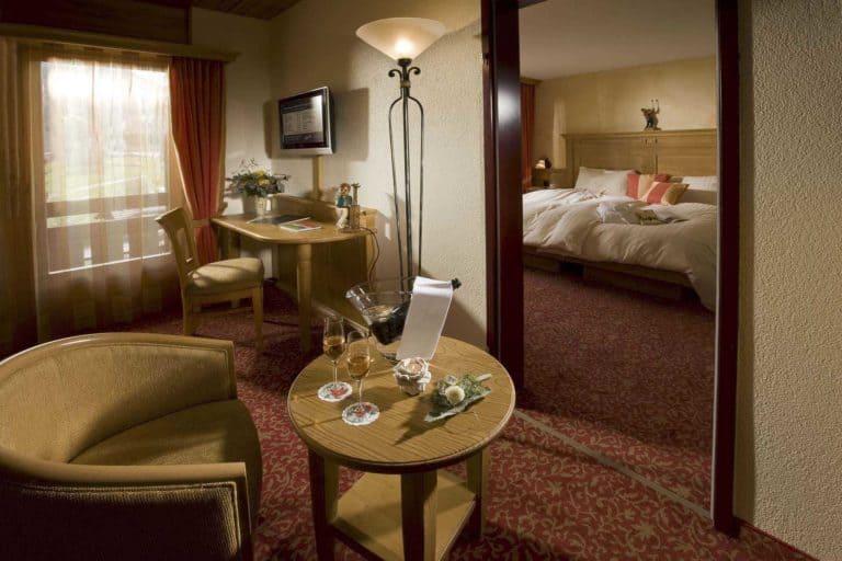 SALZANO Hotel - Spa - Restaurant in Interlaken - Urlaub, Ferien, Weekend, in der Edelweiss Suite