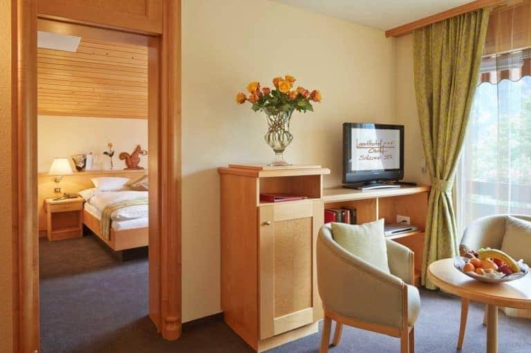 SALZANO Hotel - Spa - Restaurant in Interlaken - Urlaub, Ferien, Weekend, in der Eichhörnchen Suite