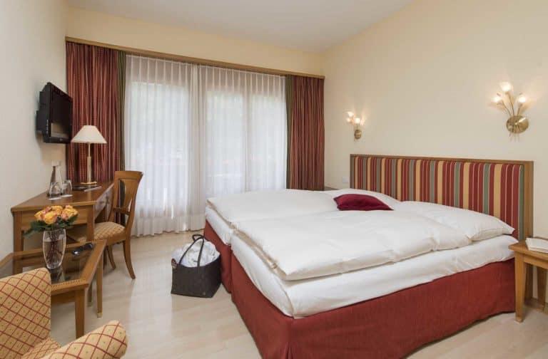 SALZANO Hotel - Spa - Restaurant in Interlaken - Urlaub, Ferien, Weekend, im Classic Zimmer
